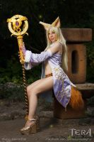 TERA - Elin Priest by YurikoCosplay