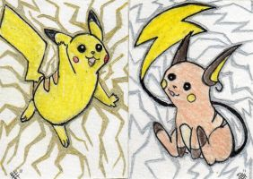POKEMON ACEO SET 3 FOR SALE by Killslay-steelclaw