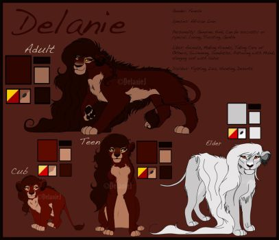 Lanie Character Reference by LanieJ