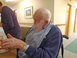My 97 Year Old Father at his Nursing Home by tablelander