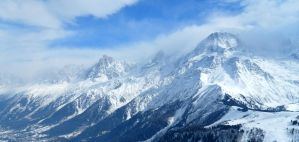 The Mont Blanc in the clouds by SP4RTI4TE