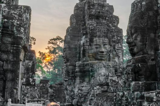 Bayon Temple by TheMetronomad