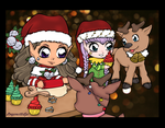Christmas Art Contest Entry by DragonetteEye