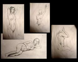 Study of a woman's body 02 by Tyliss