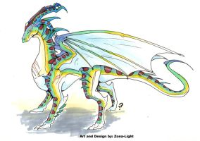 Light Dragon Adopt Closed by Zona-Light