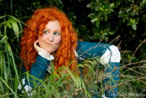 Merida, Brave by ChristinaR13