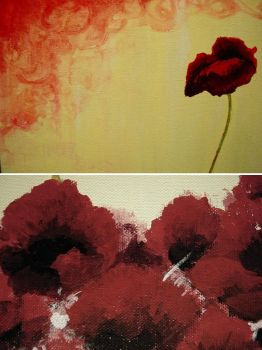 poppies detail --- forthcoming by pra4masoul