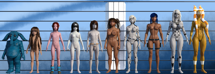 Bare Squadron - Height Chart by burstlion