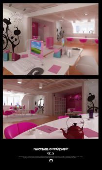 Office space by RaZorCleaN