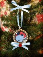 Catbug Bravest Warriors Christmas Ornament by Monostache