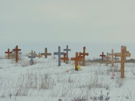 frozen crosses by Glacierman54