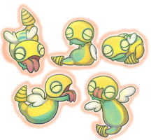 Dunsparce I choooooseee yeeeww by BakaMichi