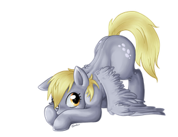 Derpy - no bubble bg by Trunksi