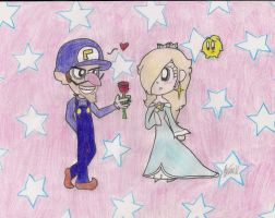 AT: WaluigixRosalina by Number1MarioFan247