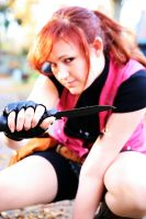 Claire Redfield Cosplay - Knife by ChaoticClaire