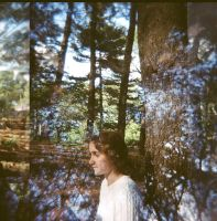 Holga Double Exposure Portrait by newjuventud