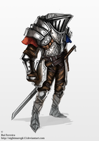 knight concept by NightmareGK13