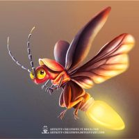 Bulbfly by ArtKitt-Creations