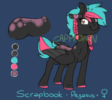 [ADOPT] Scrapbook by cappydarn