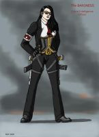 GI Joe The Baroness business suit by MJFCreations