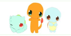 Starter Pokemon by Pie4Me