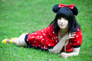 Minnie Mouse - III by JessicaUshiromiyaSan