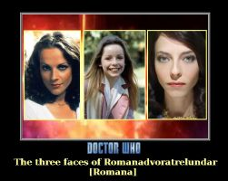 Doctor Who - The 3 Romana's by DoctorWhoOne