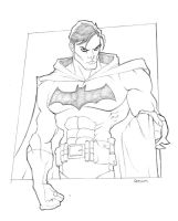Commission: Batman Unmasked by GavinMichelli