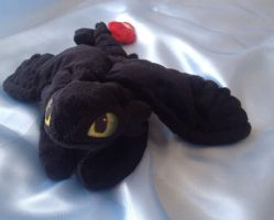 Toothless Beanie by laurilolly-crafts