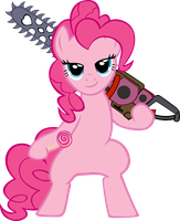 Lollipop Chainsaw Pinkie Pie Edition by Astringe
