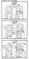 Storm and Thor: Lessons on Mistletoe by an1mei3