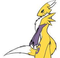 Go, Renamon - Remake Color B by CoolProjects