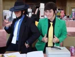 Cosplay Check: Jigan Lupin by Rhythm-Wily