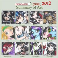 2012 Summary of Art by erondagirl