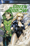 Green Arrow and Black Canary by ColletteTurner