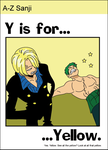 A to Z Sanji - y by airlobster