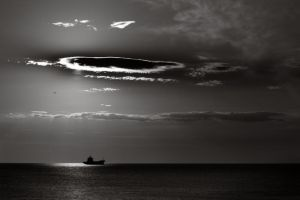 The ship and the cloud by Floriandra