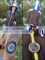 Lightning Charger- Custom MLP Hoodie by Monostache
