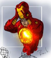 Iron Man by dcjosh