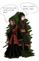 Zuko and Katara...Contest by Squirrelland