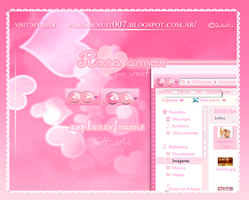 explorerframe rosa amor 64 bits by Juliette by julietawild07