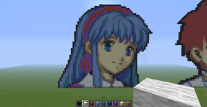 Child Lilina minecraft by slygirl1999
