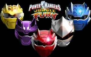 Power Rangers Jungle Fury by scottasl