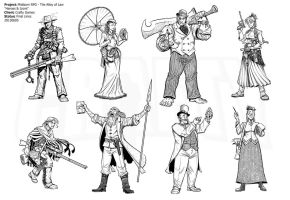 Mistborn RPG - Alloy Heroic Archetypes by Inkthinker