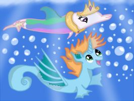 Swim with me!!! by lawliet29