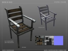 Dino D-Day: Patio Chair by Daowg