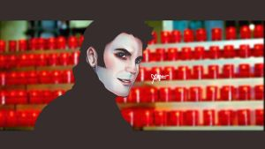 Wes Bentley {BLACK HEART,GHOST RIDER} by l3earFat