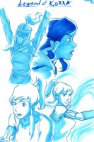 Korra by SixthIllusion