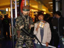 Metal Gear Solid 3 Signing by FancyCalvin