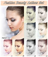 Fashion Beauty Actions Set by FP-Digital-Art